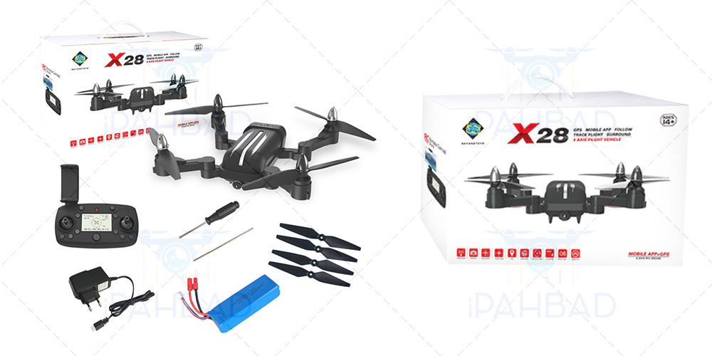 Bayang Toys X28 Package List