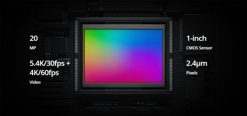 dji air 2s sensor 1inch camera