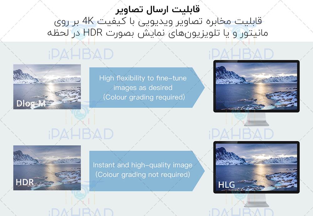 ارسال تصویر FPV همزمان بصورت فول اچ دی با مویک 2 پرو