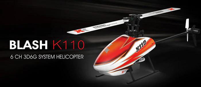 هلیکوپتر کنترلی XK-K110