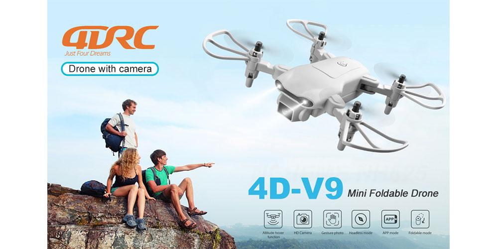 کوادکوپتر 4DRC V9