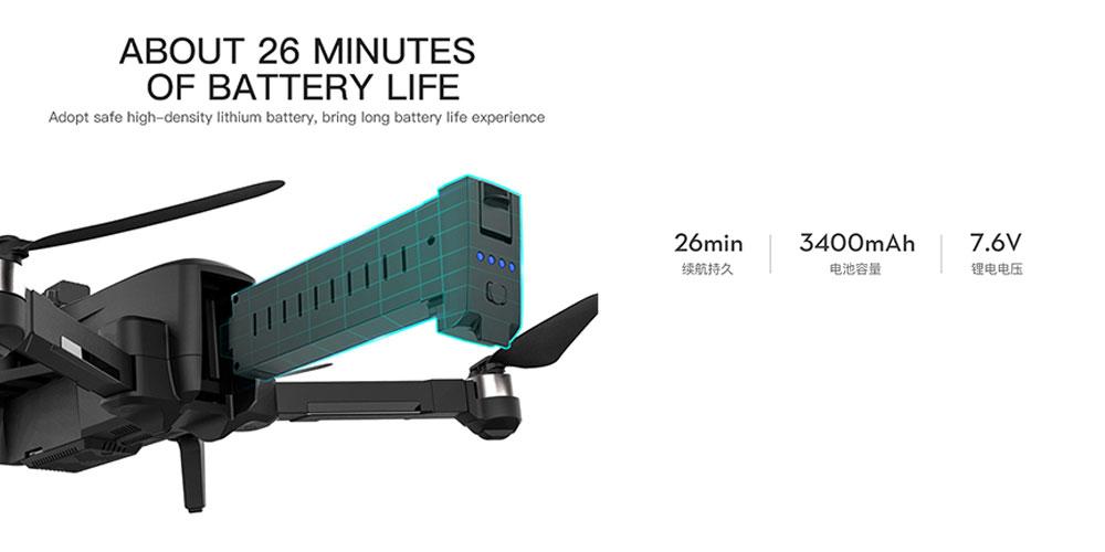 باتری کوادکوپتر ZLRC SG906 MAX