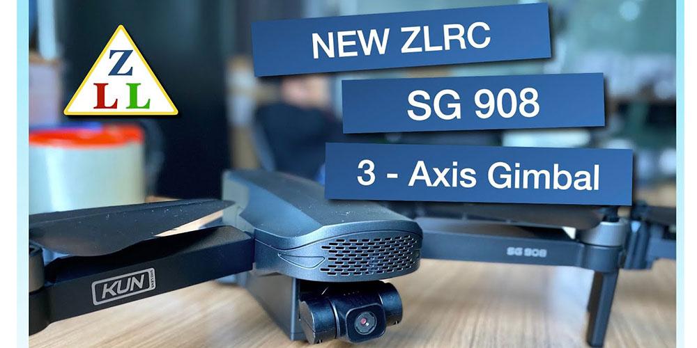 رادیو کنترل کوادکوپتر ZLRC SG908