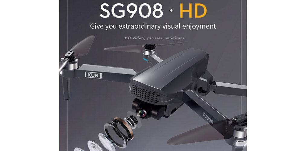 دوربین کوادکوپتر ZLRC SG908