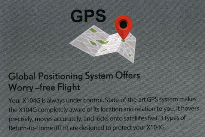 MJX-X104G GPS Module