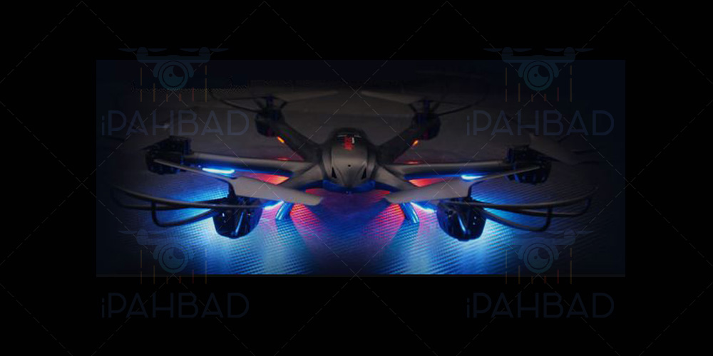 led - MJX X600 Hexacopter
