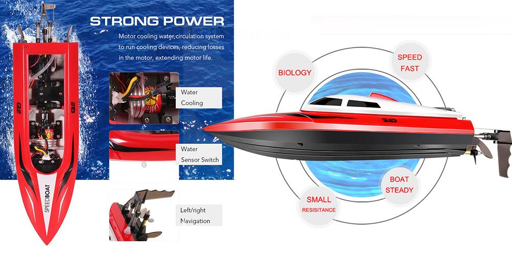 قایق کنترلی  Syma Q2