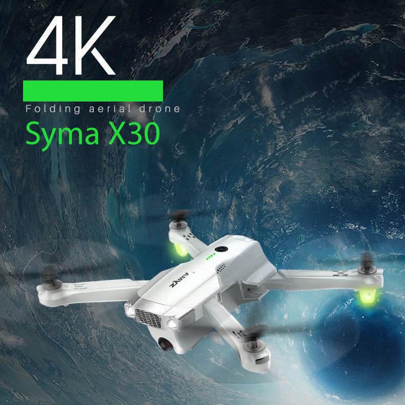 Syma X30 4K Camera Foldable Drone