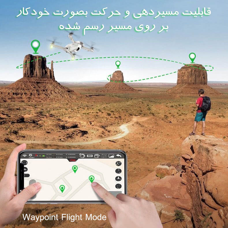 Syma X30 waypoint flight mode