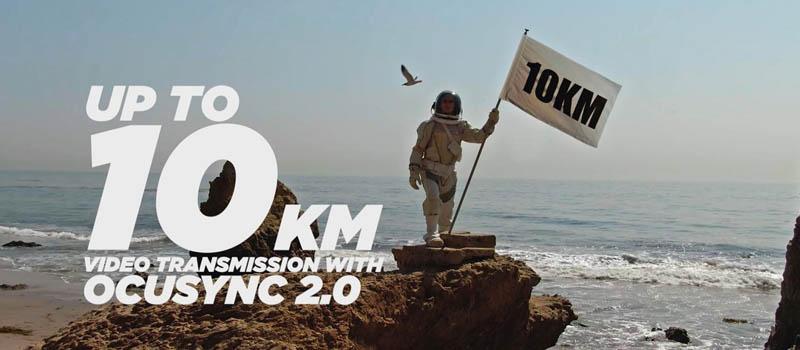 dji mini 2 up to 10km ocusync 2.0
