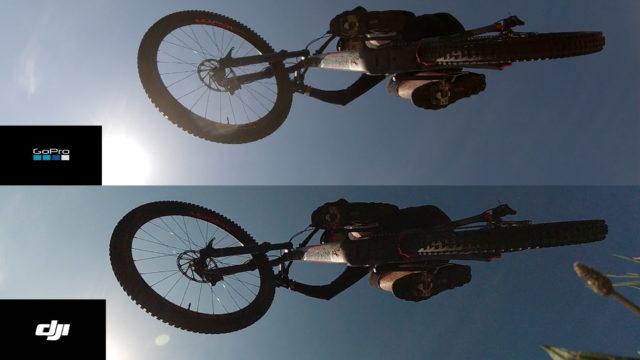 مقایسه دوربین اوزمو اکشن و گوپرو هیرو 7