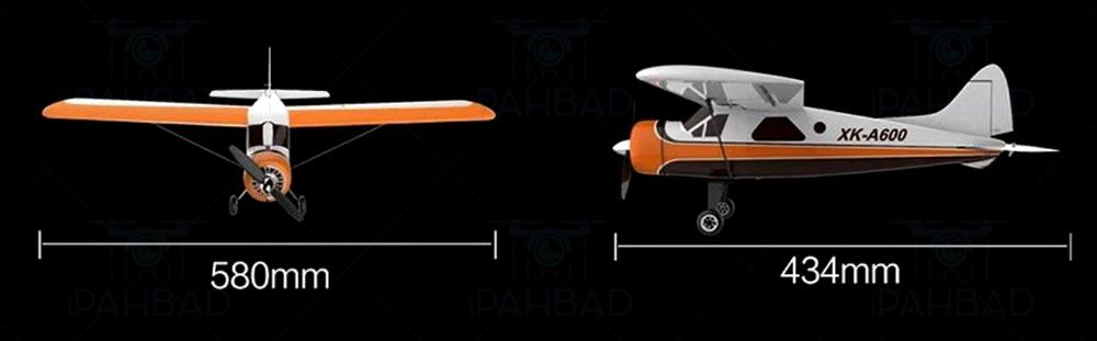 ابعاد هواپیمای A600