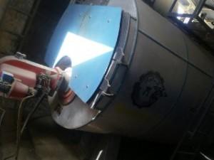 دیگ بخار پنج تن ساخت شرکت گرماوران