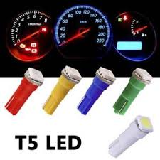 لامپ پشت کیلومتر - رنگهای متنوع