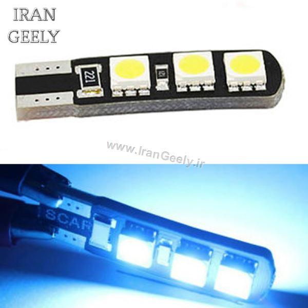 دو عدد لامپ 6 اس ام دی پر قدرت Canbus T10 - تنوع رنگ