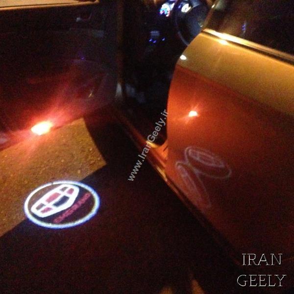 یک جفت چراغ درب فابریک Geely Emgrand EC7/7