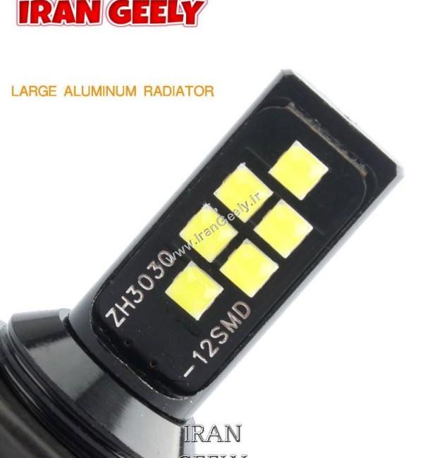 دو عدد لامپ دارای 12 اس ام دی H1 / H3