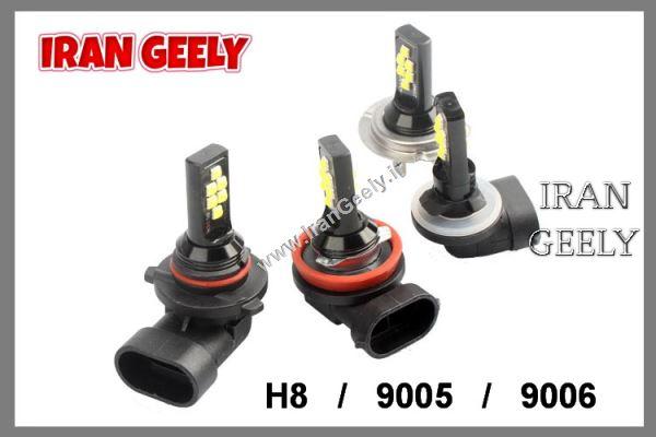دو عدد لامپ    H8 - H11  - 9005  - 9006