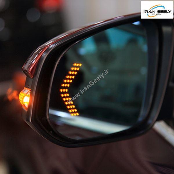 یک جفت راهنمای مخفی آینه های بغل خودرو ۲ ردیفه