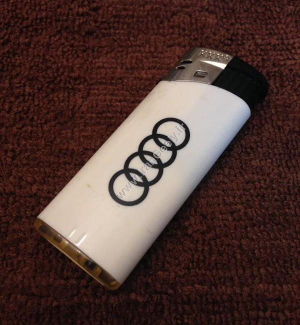فندک گازی با لوگو Audi