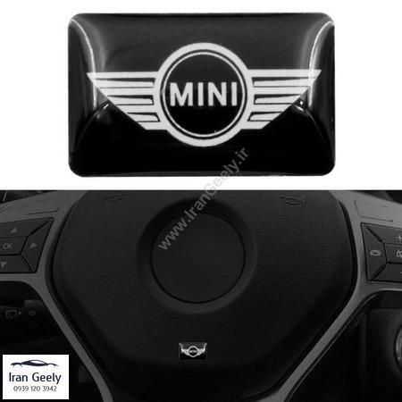 یک عدد برچسب  اپوکسی با لوگوی   Mini Cooper