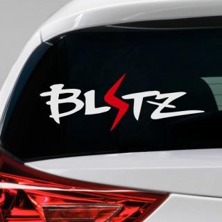 Blitz Car Sticker