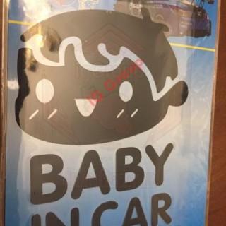 NEW Baby in Car Sticker