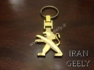 جا کلیدی طلایی پژو
