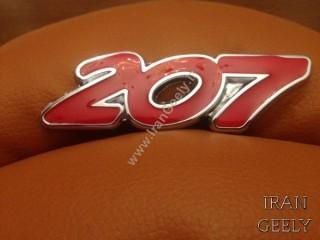 207 Metal badges