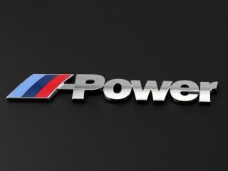 Large MPower Metal Badges