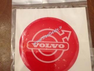 برچسب جدید پلی استری Volvo قرمز