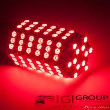 ۲عدد لامپ قرمز دارای ۱۲۰ اس ام دی  1157