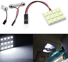 چراغ سقف خودرو  12 SMD