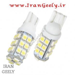 یک جفت لامپ 28 اس ام دی w5w/T10