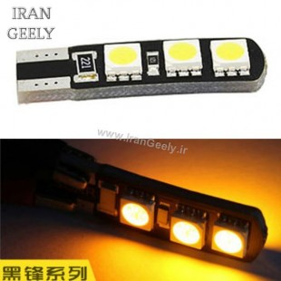 دو عدد لامپ 6 اس ام دی پر قدرت Canbus T10