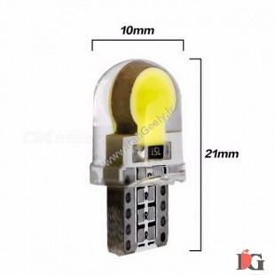 دو عدد لامپ با 6 عدد اس ام دی W5W-T10