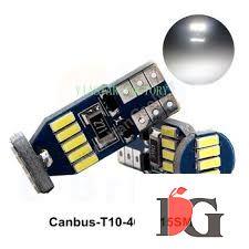 دو عدد لامپ 15 اس ام دی T10-15SMD-4014-CANBUS جدید 2021