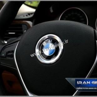 حلقه وسط آرم فرمان BMW