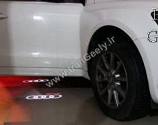 Audi welcome light