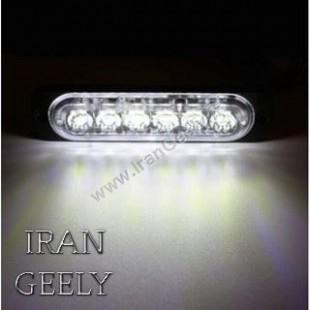 یک عدد چراغ 6 LED استروب