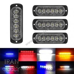 یک عدد چراغ ۶ LED در ۴ رنگ