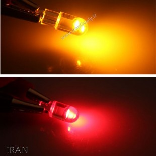 یک جفت لامپ شفاف  T10/W5W