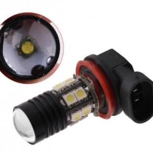 یک عدد لامپ اس ام دی پر قدرت  H11