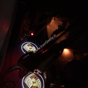 ولکام لوگو پورشه بصورت فابریک Boxster - Cayenne - Macan