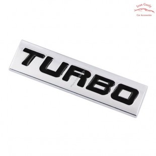 TURBO Metal Badge