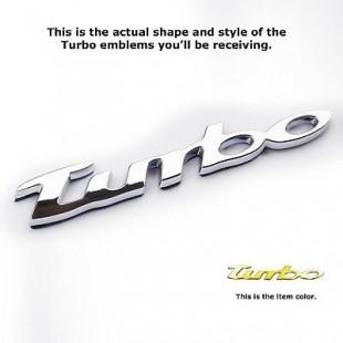 TURBO ABS Italic Badges