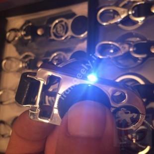 جا کلیدی لوکس پژو با لوگو خودرو+چراغ قوه