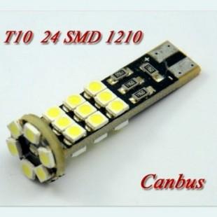 دو عدد لامپ ۲۴ اس ام دی پر قدرت CANBUS-White