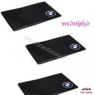 Silicon Anti Slip Logo Pad BMW