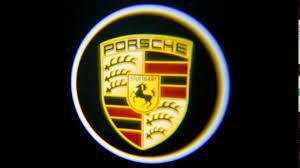ولکام لوگو PORSCHE بصورت فابریک  Cayenne